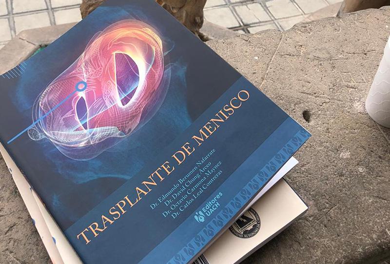 libro de transplante de menisco